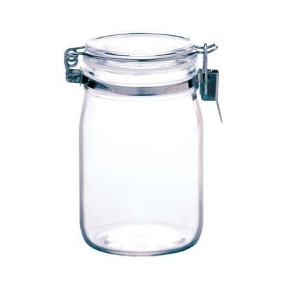 星硝 セラーメイト ガラス保存 密封瓶 1L 粉末 乾物 保存容器 ジャム 調味料 密封びん 密封ビン 4974452220018