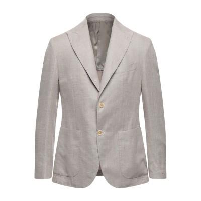 イレブンティ ELEVENTY テーラードジャケット ベージュ 46 コットン 50% / リネン 50% テーラードジャケット