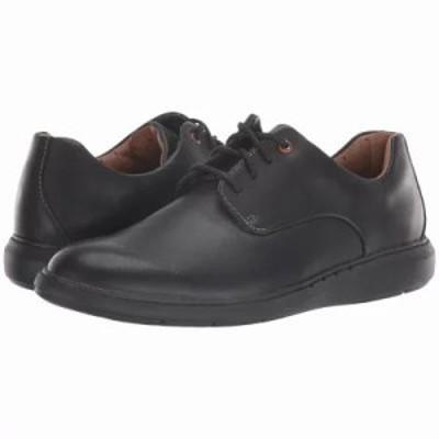 クラークス 革靴・ビジネスシューズ Un Voyage Plain Black Leather