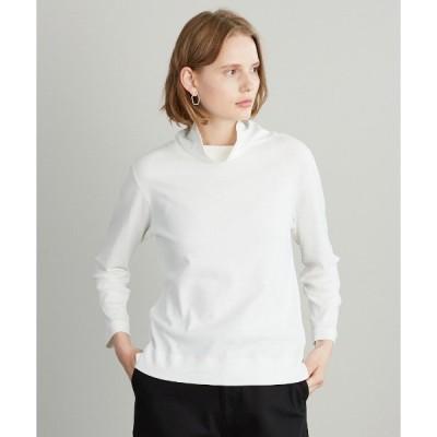 tシャツ Tシャツ [Elama]スヴィンコットンフライス タートルネックカットソー