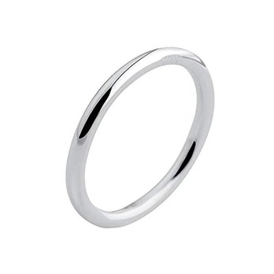 LOVECOM 925 Sterling Silver Rings Stacking Ring for Women Girls Midi Knuckl