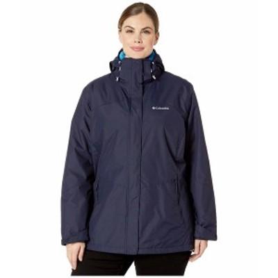 コロンビア レディース コート アウター Plus Size Bugaboo II Fleece Interchange Jacket Dark Nocturnal/Fathom Blue