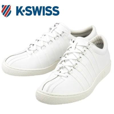 K・SWISS メンズスニーカー 白 クラシック66 レザーシューズ ケースイス CLASSIC66 JPN レディース 36801000 通販 販売 人気ブランド 通勤 通学 ケイスイス