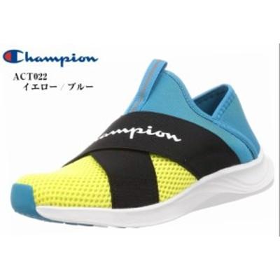 カジュアルスリッポンモックスニーカー (Champion)CP ACT022 ビーンズフォーム SLIP 3 チャンピオン メンズ レディス 2020年SSモデル