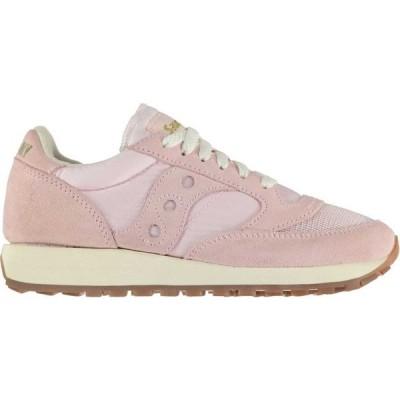 サッカニー Saucony Originals レディース スニーカー シューズ・靴 Jazz OG Vintage Trainers Pale Pink