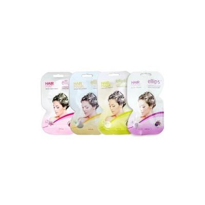 エリプス ヘアマスク ellips Hair Mask 4種類セット8枚セット 自宅で手軽にヘッドスパ