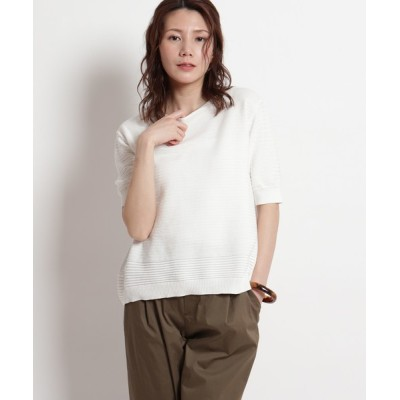 Reflect / 【洗える】スヴィン綿ニット WOMEN トップス > ニット/セーター