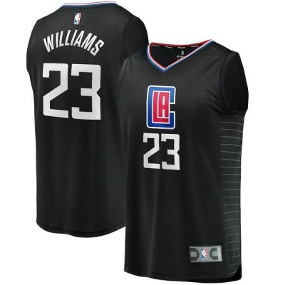 ファナティクス ブランデッド メンズ Tシャツ トップス Lou Williams LA Clippers Fanatics Branded Fast Break Player Jersey