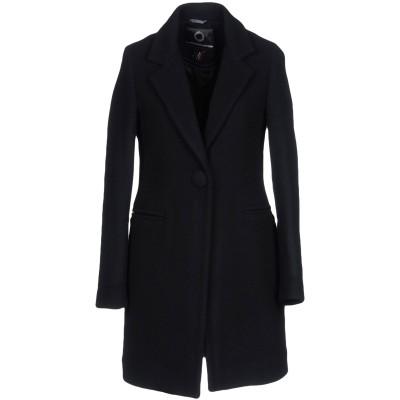 UP TO BE コート ブラック 44 ウール 70% / ナイロン 30% コート