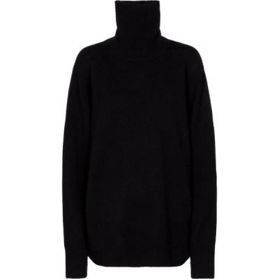 ザ ロウ The Row レディース ニット・セーター トップス Stepny wool and cashmere turtleneck sweater Black
