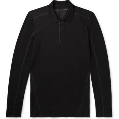 オールバー ブラウン ORLEBAR BROWN メンズ ポロシャツ トップス polo shirt Black