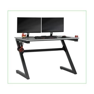 SD STUDIO DESIGNS Zone Gaming Table, Black,silver並行輸入品