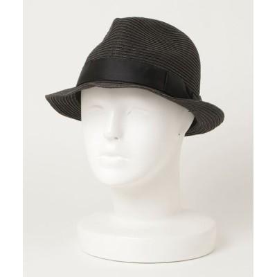 ZOZOUSED / リボンストローハット WOMEN 帽子 > ハット