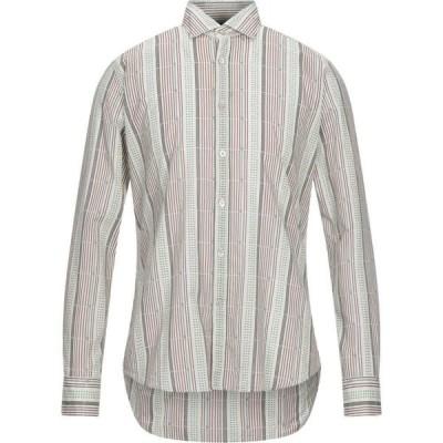 バグッタ BAGUTTA メンズ シャツ トップス Striped Shirt Beige