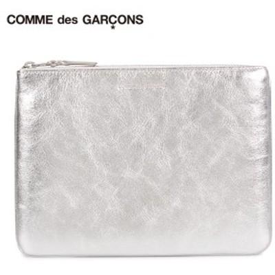 コムデギャルソン COMME des GARCONS 財布 小銭入れ コインケース メンズ レディース 本革 GOLD AND SILVER COIN CASE シルバー SA5100G