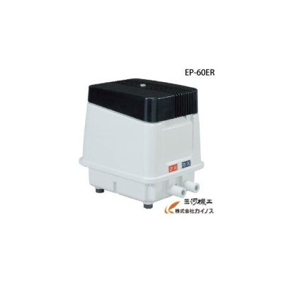 安永 エアポンプ 電磁式エアーポンプ 逆洗タイマー付タイプ 省エネ型 <EP-60ER> AC100V 50Hz 60Hz