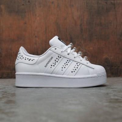 アディダス Adidas レディース スニーカー シューズ・靴 warovski Superstar Bold white/core black/silver metallic