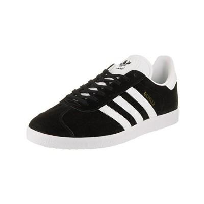 Adidas Originals Men's Gazelle Lace-up Sneaker,Black/White/Gold Met.,12 M US