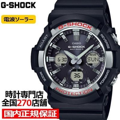 G-SHOCK ジーショック GAW-100-1AJF カシオ メンズ 腕時計 電波ソーラー ブラック ビッグケース ベーシック 国内正規品