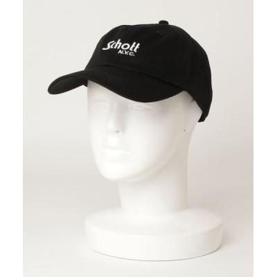SCHOTT / Schott/ショット/COTTON TWILL CAP LOGO/コットンツイル キャップ MEN 帽子 > キャップ
