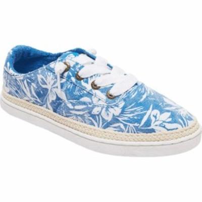 ロキシー Roxy レディース スニーカー シューズ・靴 Talon Blue/White
