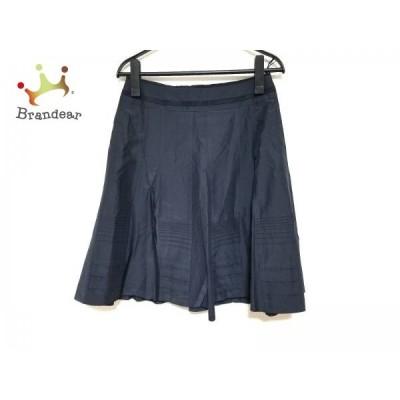 ボディドレッシングデラックス スカート サイズ36 S レディース 美品 ネイビー  スペシャル特価 20210314
