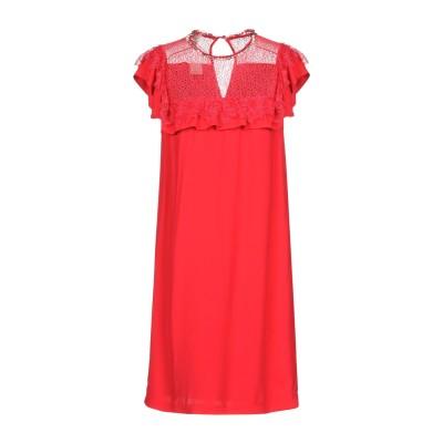 ピンコ PINKO ミニワンピース&ドレス レッド 40 レーヨン 100% / ナイロン / ポリウレタン ミニワンピース&ドレス