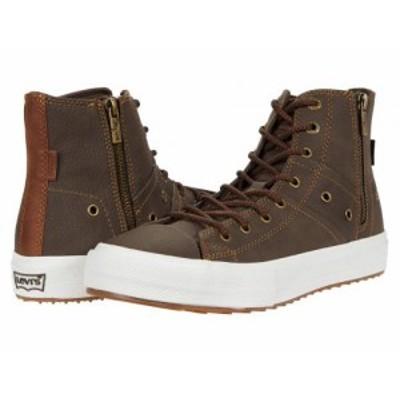 Levis(R) Shoes リーバイス メンズ 男性用 シューズ 靴 スニーカー 運動靴 Zip EX Mid Lux Brown/Tan【送料無料】
