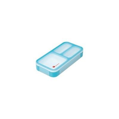 DSK 薄型弁当箱 フードマン ミニ スカイブルー ( 1コ入 )/ DSK