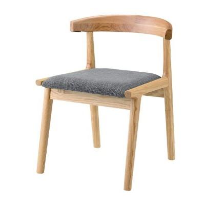 ダイニングチェア ローバック 天然木 木製 食卓チェアー 食卓椅子 いす イス 椅子 ファブリック ダイニングチェアー ブラウン