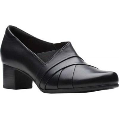 クラークス Clarks レディース パンプス シューズ・靴 Un Damson Adele Pump Black Leather