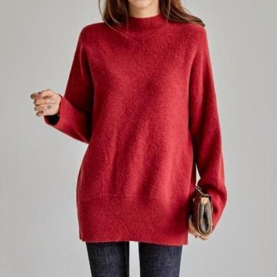 PIPPIN レディース ニット/セーター Awesome Half Neck Knit #108784