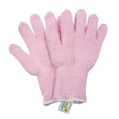 お掃除手袋 ウルトラ マイクロファイバー手袋 ピンク KE702