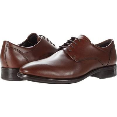 エコー Citytray Plain Toe Tie メンズ オックスフォード Cognac