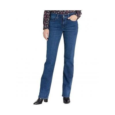NYDJ エヌワイディージェー レディース 女性用 ファッション ジーンズ デニム Marilyn Straight Jeans in Habana - Habana