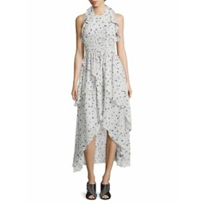 イロ レディース ワンピース Jessy Ruffled Floral-Print Halter Dress