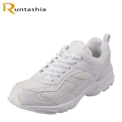 ランタシア RUNTASHIA RT7600 レディース | ランニングスニーカー | ホワイト×ホワイト