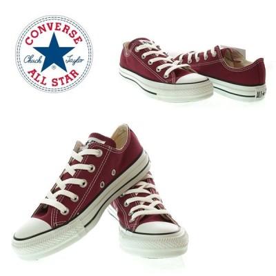 CONVERSE コンバース CANVAS ALL STAR OX キャンバスオールスター 1C030 MAROON レディーススニーカ−