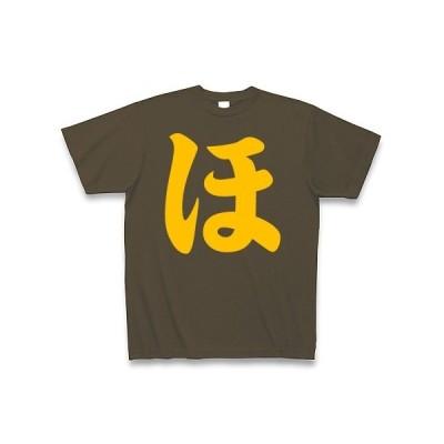 ほのかのほ Tシャツ Pure Color Print(オリーブ)
