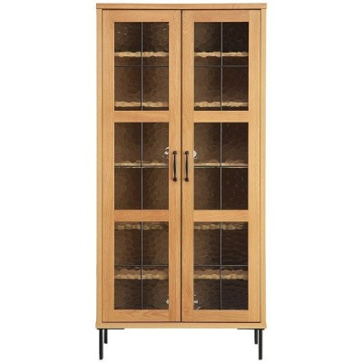 キャビネット(オアシス 80ハイキャビネット)リビング収納 飾り棚 コレクションボード