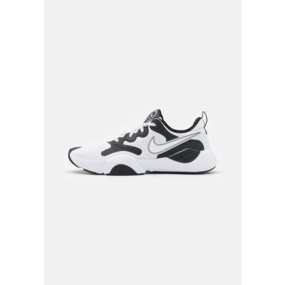 ナイキ メンズ スポーツ用品 SPEEDREP - Sports shoes - white/black