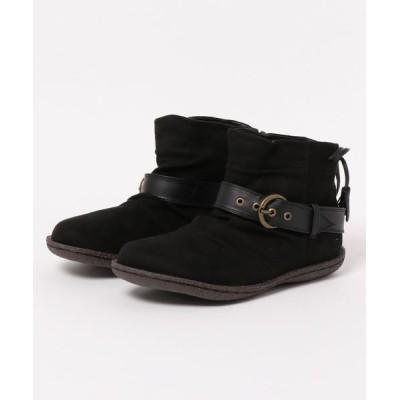 GeeRA / バックレースアップブーツ WOMEN シューズ > ブーツ
