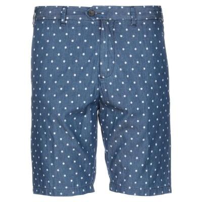 LIVE CONCEPT ショートパンツ&バミューダパンツ  メンズファッション  ボトムス、パンツ  ショート、ハーフパンツ ブルー