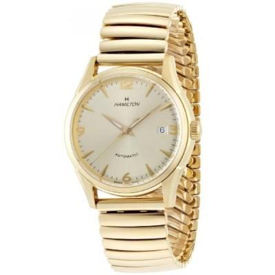 ハミルトン 腕時計 メンズウォッチ Hamilton Men's H38435221 Timeless Class Goldtone Dial Watch