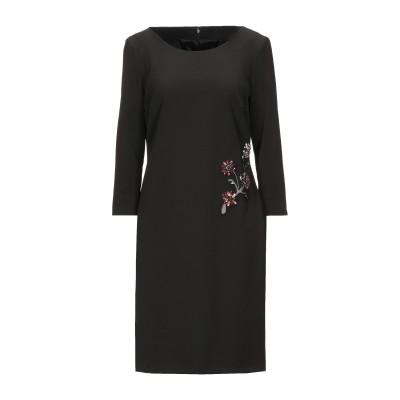 アレッサンドロデラクア ALESSANDRO DELL'ACQUA ミニワンピース&ドレス ブラック 44 ポリエステル 88% / ポリウレタン
