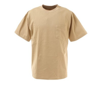 Tシャツ メンズ 半袖 ショートスリーブ ポケット SL-ALL-002-BEG カットソー