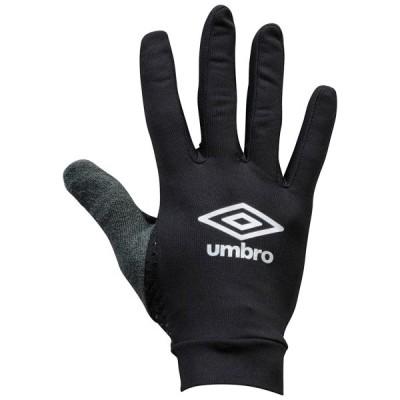 アンブロ サッカー 手袋 マジックグローブ フィールドプレイヤーグローブPRO ブラック×シルバー BKSL UM-UUAOJD51-BKSL