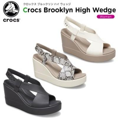 クロックス(crocs) クロックス ブルックリン ハイ ウェッジ ウィメン(crocs brooklyn high wedge w) レディース/シューズ/サンダル[C/A]