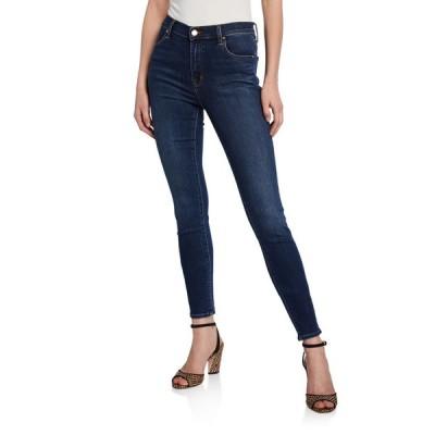ジェイブランド レディース デニムパンツ ボトムス Maria High-Rise Super-Skinny Jeans