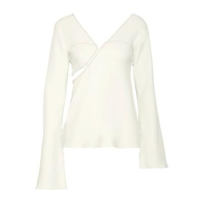 ブーフィレ BEAUFILLE T シャツ ライトグレー 2 レーヨン 94% / ポリウレタン 6% T シャツ